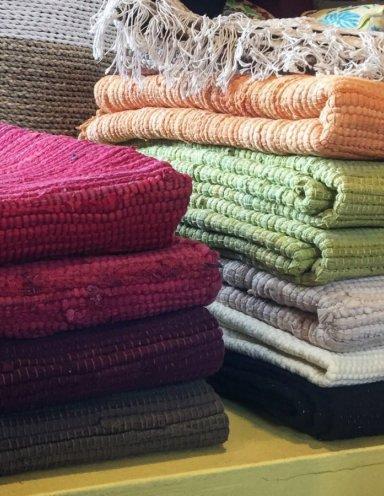 שטיחי כותנה אינדיה חלקים