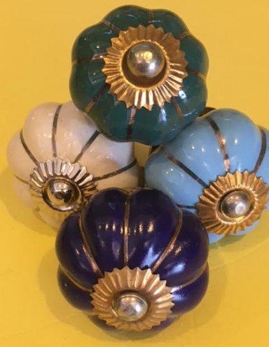 ידיות קרמיקה מרוקאיות צבעוניות