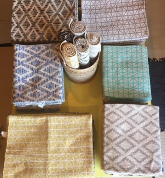 שטיחים, וילונות ומחצלות