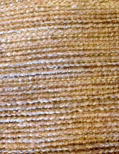 תקריב שטיח חבל