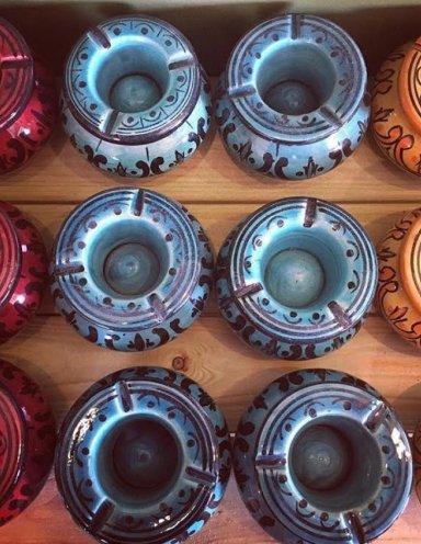 מאפרות מרוקאיות צבעוניות