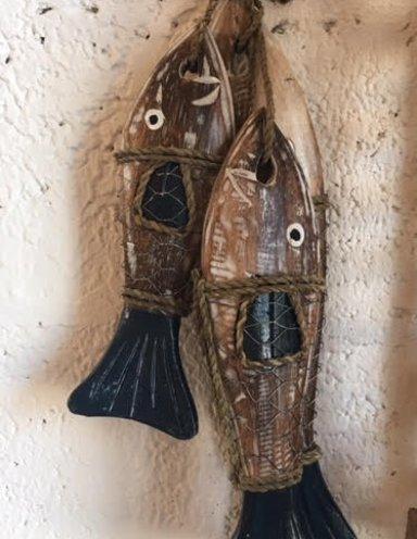 מתלה קיר דגים